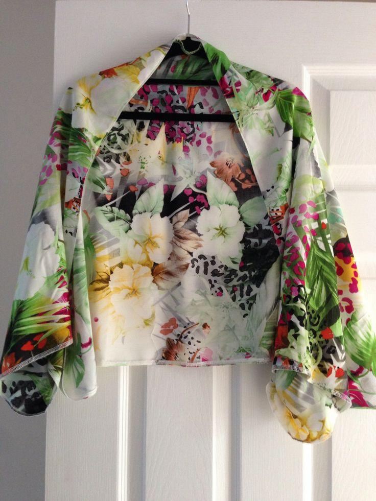 Jungle Floral Shrug by JuliaheartsU Collars & Kimonos