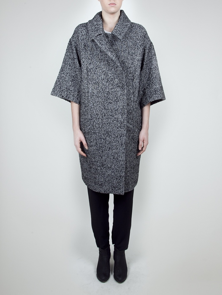 Oak + Fort Odette Coat