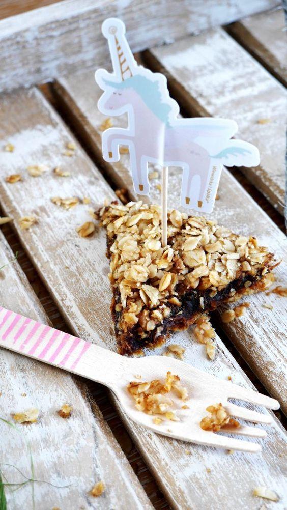 Tarta daktylowo - owsiana - healthy plan by ann