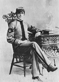 Douglas MacArthur as a student at West Texas Military Academy in the late 1890s