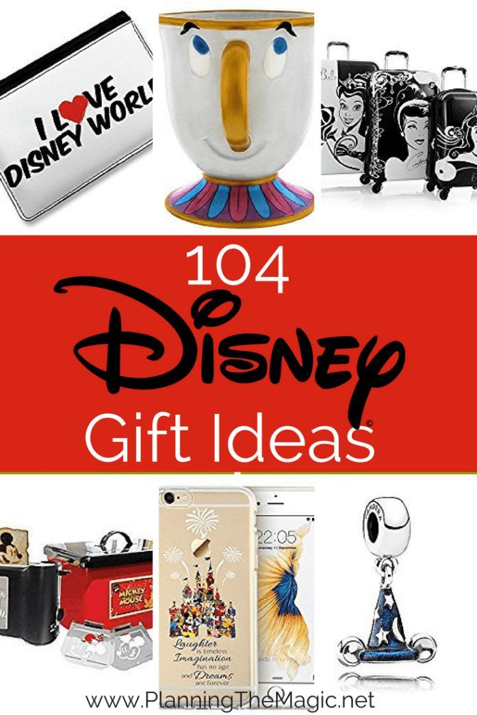 Disney World Gift Ideas | 104 options to find that perfect Disney gift idea for your girlfriend or boyfriend. Surprise your kids with an awesome gift that they will remember forever.