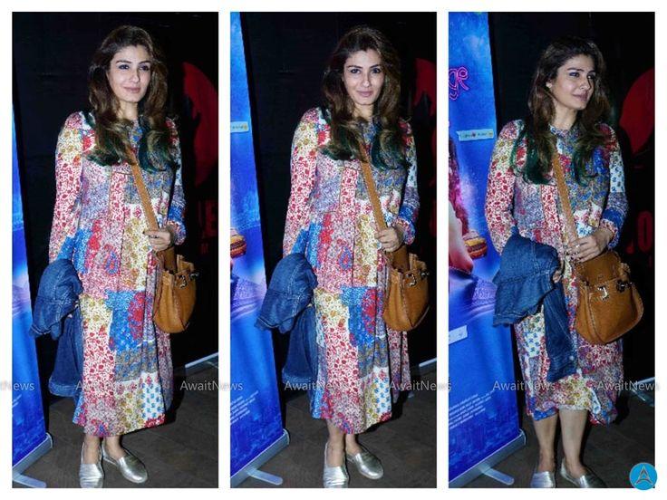 Raveena Tandon Photos At Kuchh Bheege Alfaaz Movie Special Screening