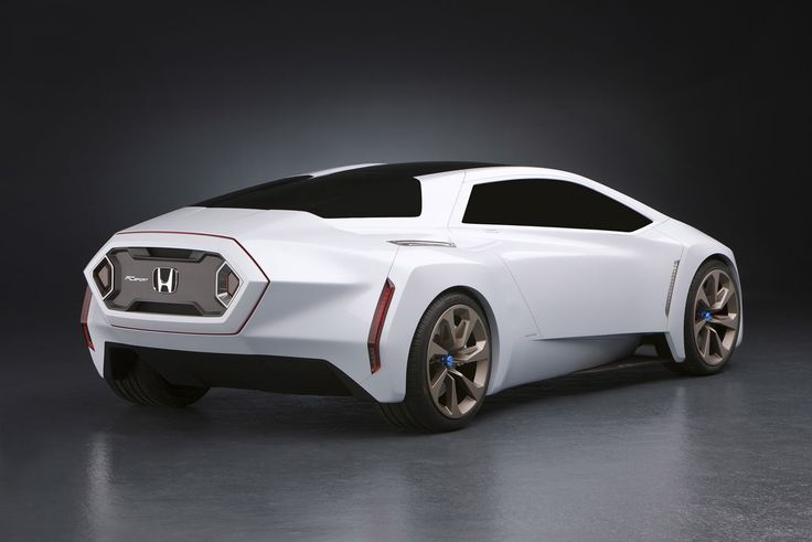 Beautiful 2014 Honda FC Sport Concept Car Picture Back View
