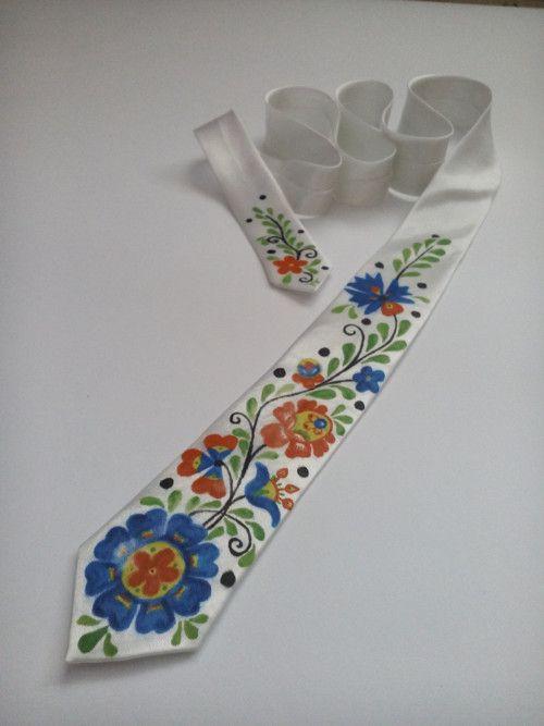 slim kravata FOLK  bac62c230a