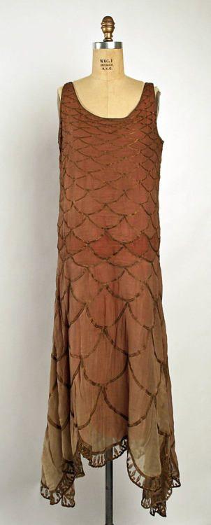 Dress, Madeleine Vionnet, 1926, The Metropolitan Museum of Art