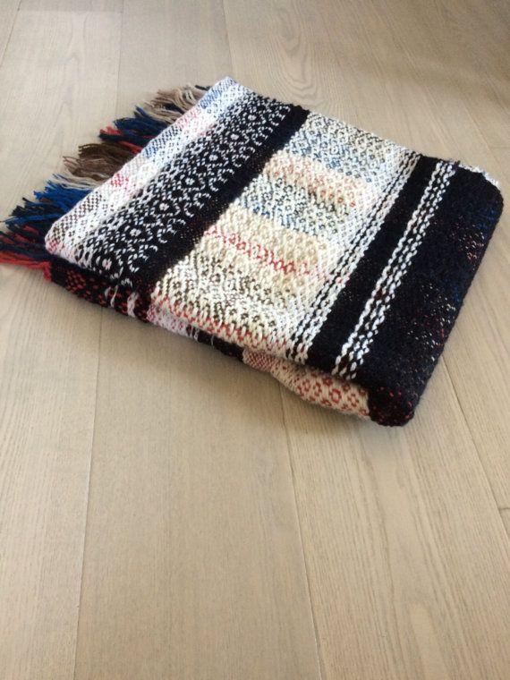 Handwoven Wool Blanket No. 3.3