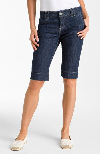 Long Denim Shorts Women