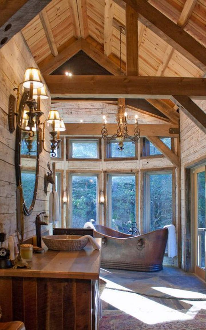 815 best images about Log Homes & Log Cabins on Pinterest   Small ...