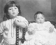 *The youngest passenger on board the ship, two month old Millvina Dean who, with her parents Bertram Sr. and Eva Dean and older brother Bertram, were emigrating from England to Kansas, died in 2009. She was the last survivor of the Titanic disaster to die.