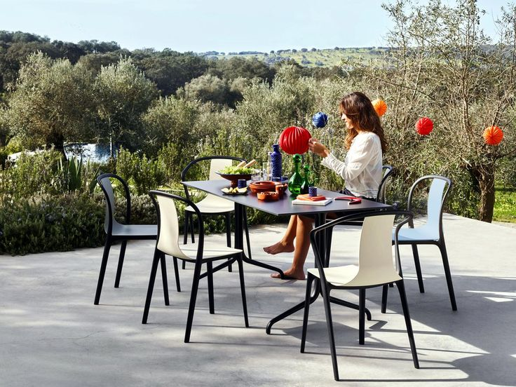 Belleville Armchair Outdoor Crème Von Ronan U0026 Erwan Bouroullec, 2015    Designermöbel Von Smow.