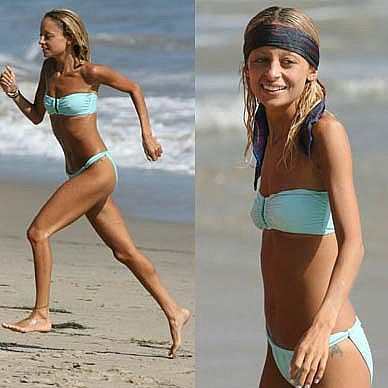 Nicole Richie Diet: So what does Nicole Richie eat now that she's done breastfeeding? It's a bit of a mystery. She's still pretty skinny, so probably not much. Richie's been happy to explain what she doesn't eat: she raises her kids in a sugar-free, dairy-free household. She even bans plastic. Maybe because in a house with no food, plastic wrap starts to look mighty appetizing? She has been known to give her daughter blueberries, so perhaps Nicole eats them too. ...