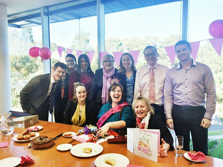 Celebrating the #birthday of one of our most tenured employees with a surprise morning tea in the #office.