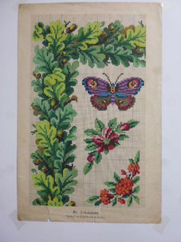 Berlin WoolWork Patterns Produced By Gebhardi In Berlin