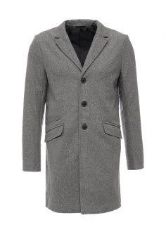 Пальто Only & Sons, цвет: серый. Артикул: ON013EMJSE96. Мужская одежда / Верхняя одежда / Пальто