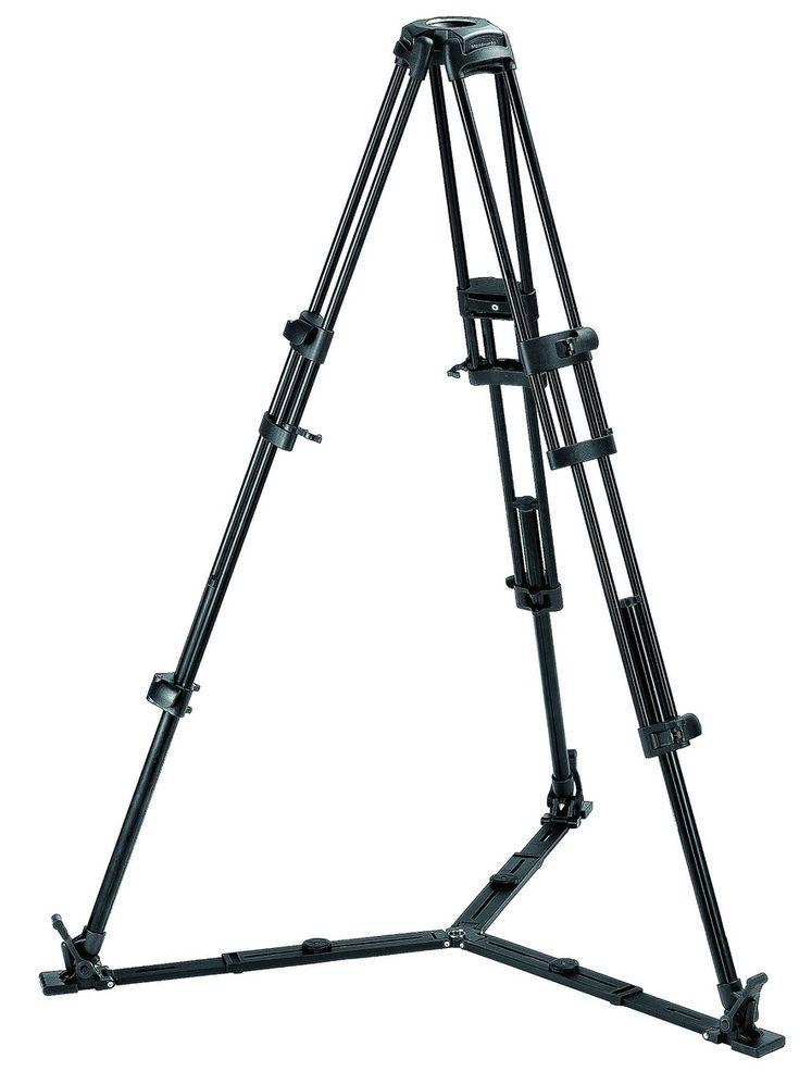 525MVB Pro Ligthweight Video Tripod 525MVB - Pro Twin Leg | Manfrotto