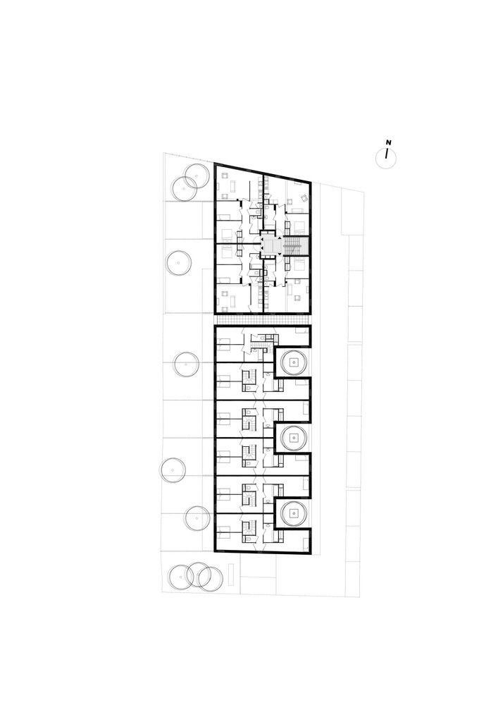 Dijon Concrete Housings,Plan 2