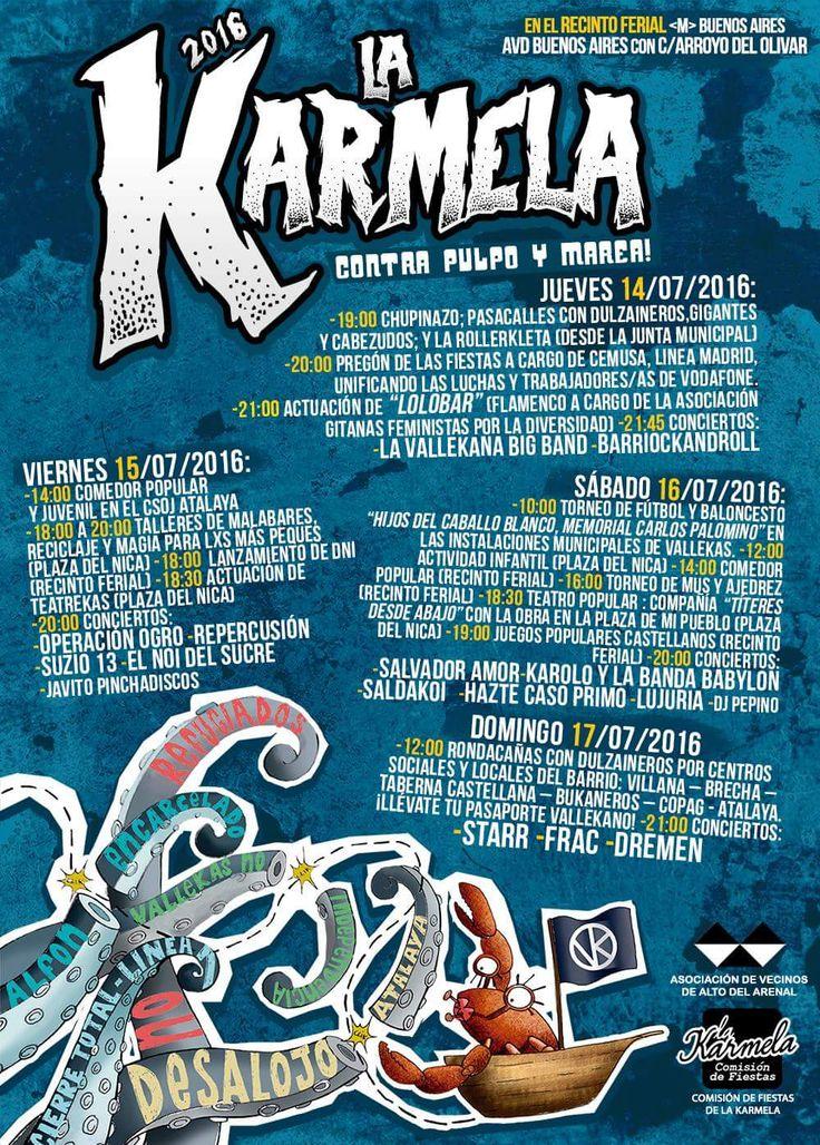 Fiestas de la Karmela 2016