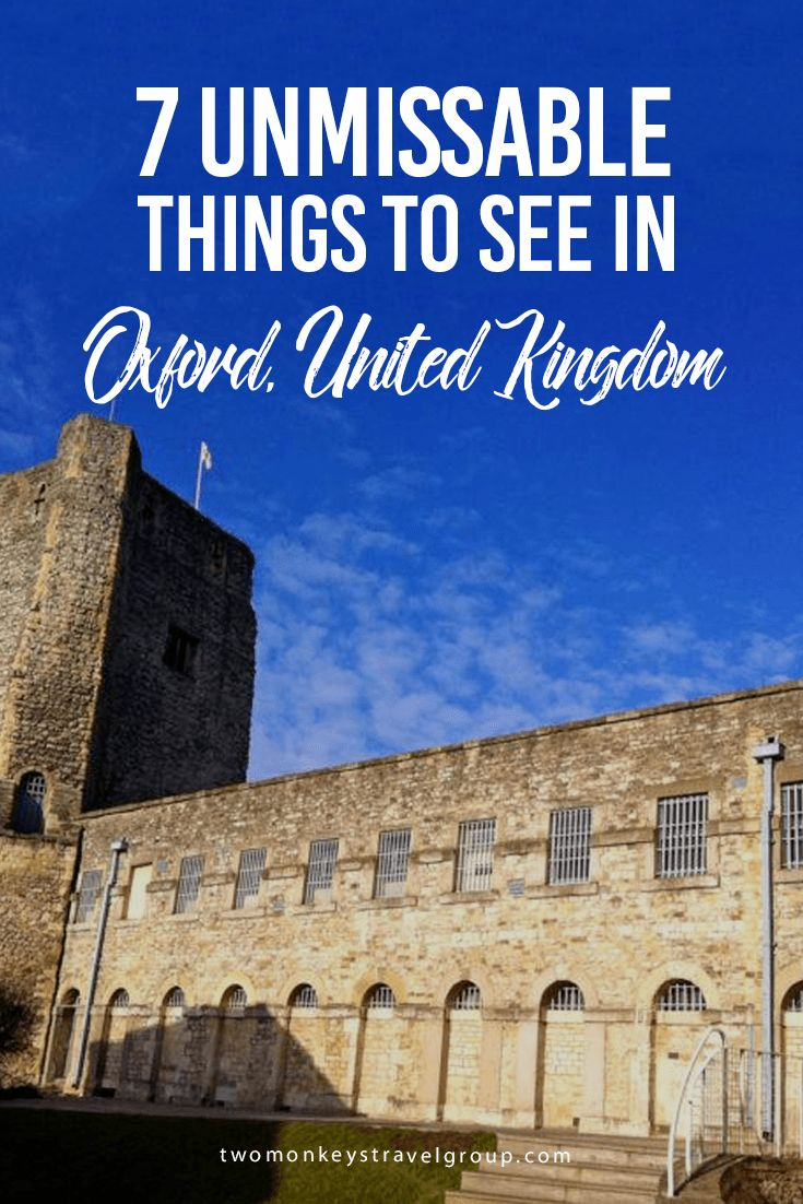 7 Unmissable Things to See in Oxford, United Kingdom