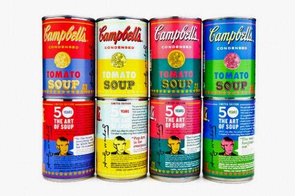 Campbell celebra Andy Warhol -50th 02