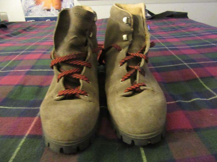 womens vintage vasque boots 7528 sz 8 #Vasque #hikingtrail #WalkingHiking
