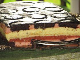 Domowe ciasta i obiady: Kolorowy sernik na lato