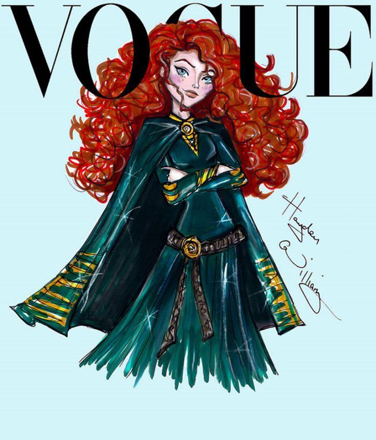 8 Hayden Williams - princesas Vogue
