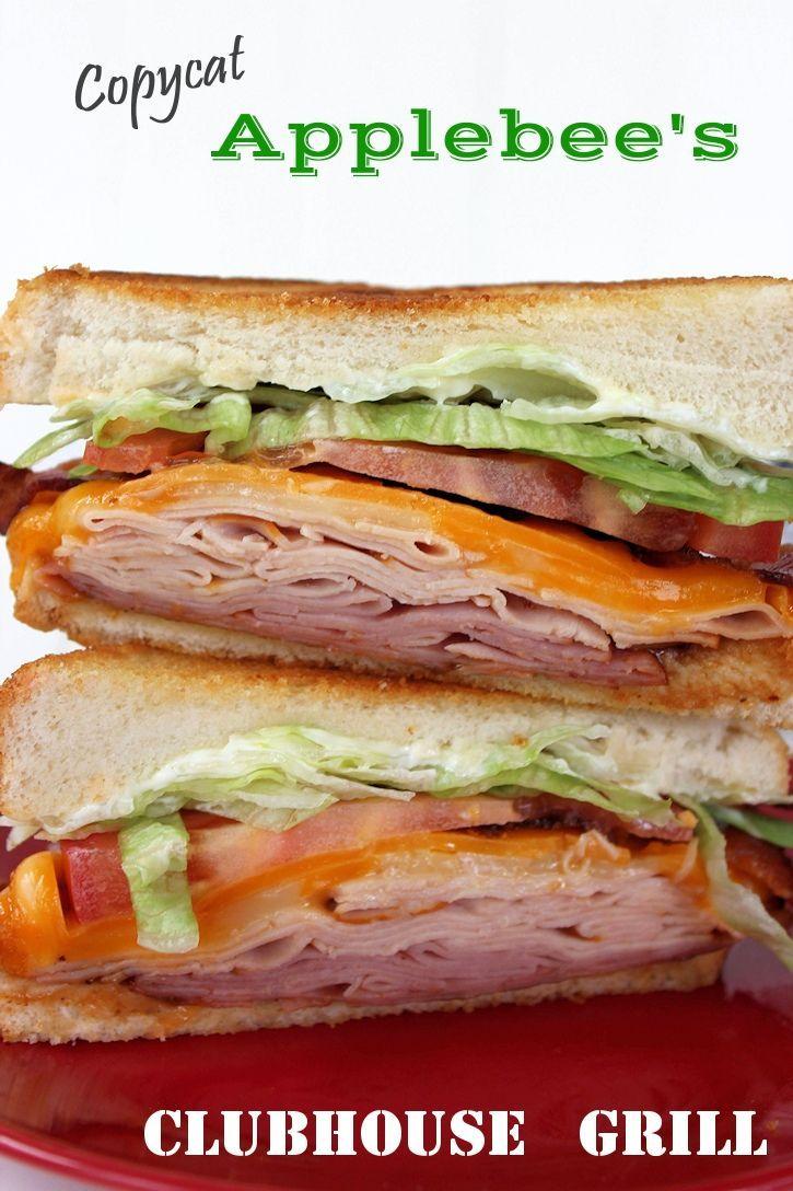Copycat Applebee's Clubhouse Grill Sandwich