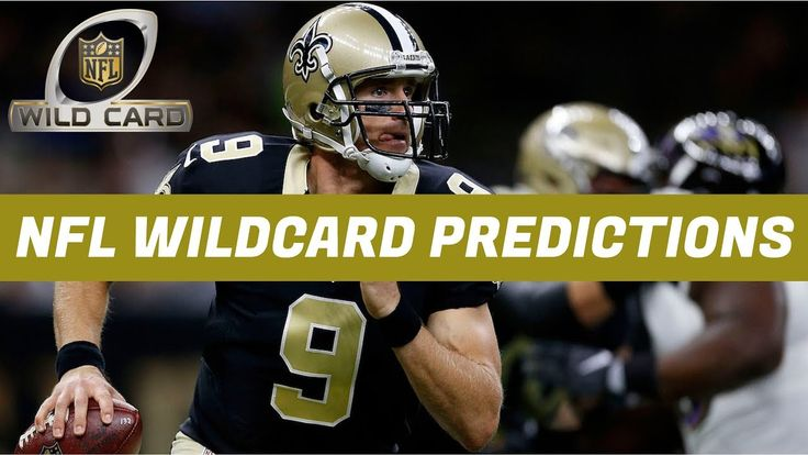 NFL Wildcard Weekend Picks, Predictions & Preview - YouTube
