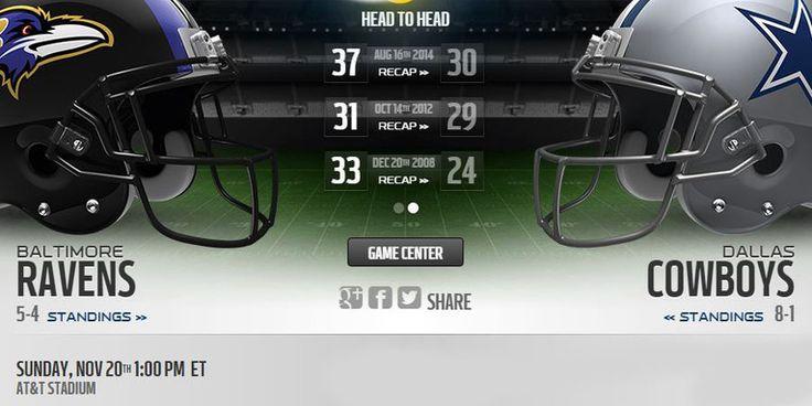 Ravens vs Cowboys live stream    more :: http://cowboysvsravens.us/