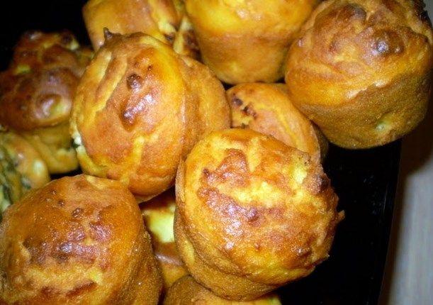 Najjednostavnije meke kukuruzne projice sa feta sirom ~ Recepti za svaki dan