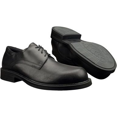 For those that need to look smart whilst keeping their feet protected - the Magnum Active Duty CT Composite Toe Cap Shoes are high quality dress footwear which use the very best materials, such as full grain leather uppers and highly breathable mesh linings. They are tested & certified to European standard en 20345: for safety footwear. Ideal for Police Forces, NHS Trusts or MoD Units.