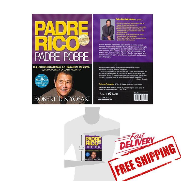 NEW Padre Rico Padre Pobre Paperback Febrero 2008 LIBRO FINANZAS PERSONALES