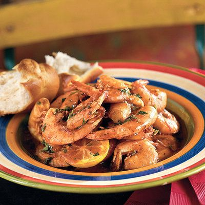 New Orleans Barbecue Shrimp - Southern Shrimp Recipes - Southern Living