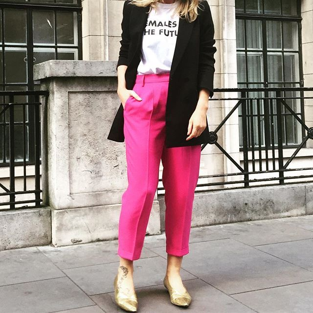 Badass pink 🙌🏻 #ootd