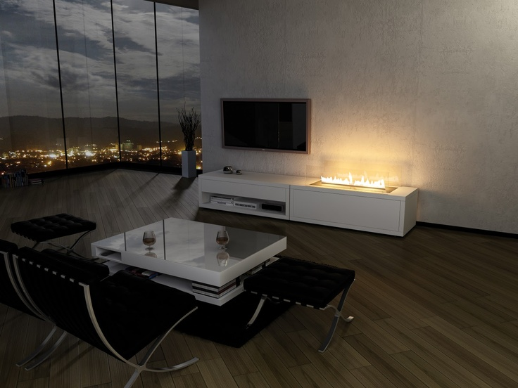 Awesome Planika Fireplaces Part - 14: Modern Architecture - Fireplaces - Planika Fires - Fire Line