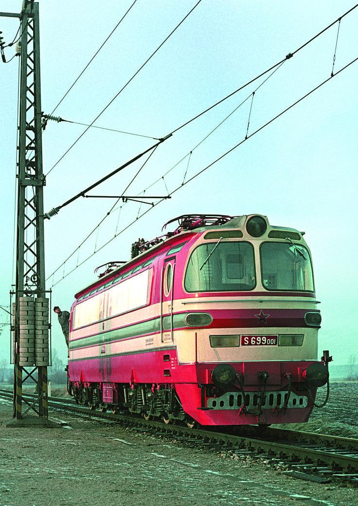 Elektrická lokomotiva S 699.001, designérský skvost architekta Otakara Diblíka