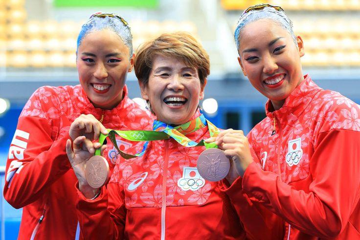<五輪シンクロ>井村HCへの誕生日プレゼントは、銅メダル #シンクロ #リオ五輪