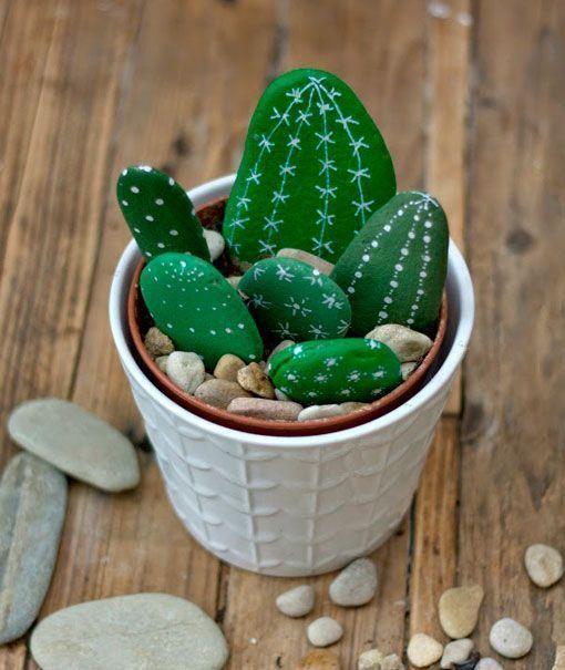 más de 25 ideas únicas sobre cactus de piedra en pinterest