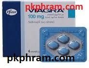 100mg Viagra Pfizer 4 tab in 1 strip - pkpharm