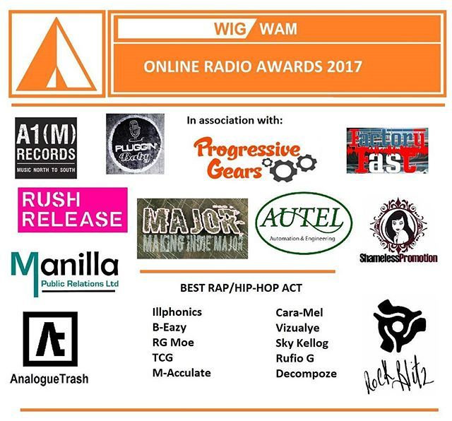 Reposting @caramel_dmv: Best Rap/Hip-Hop Act Nomination: #2017 Online Radio Awards! It is an honor to be nominated! Thank you @radio_wigwam! Love yal! ❤ #love #radio #indie #awards #musicawards #success #determination #music #musicians #hiphop #rap #song #genre #indiemusic #musician #caramel #august #indie #act #artists #indiemusic #musically #uk #world