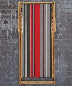 Deckchair Petitus rouge