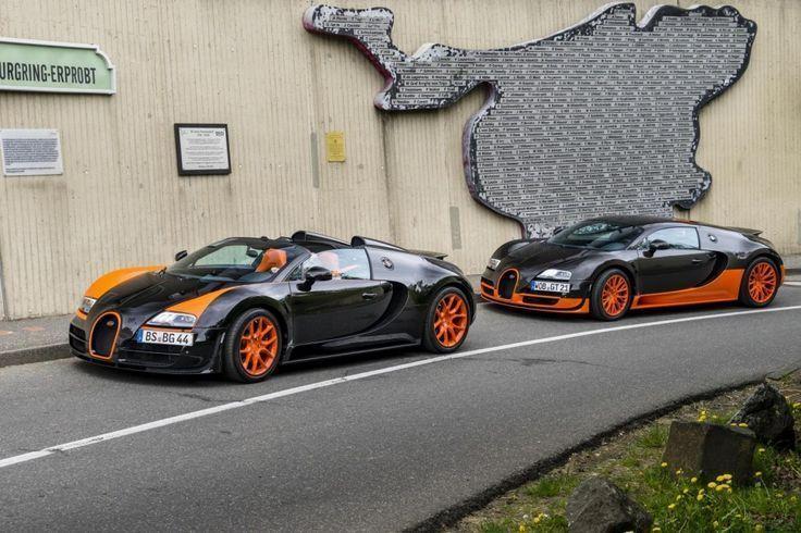 Bugatti Veyron Super Sport Et Grand Sport Vitesse Au Nurburgring