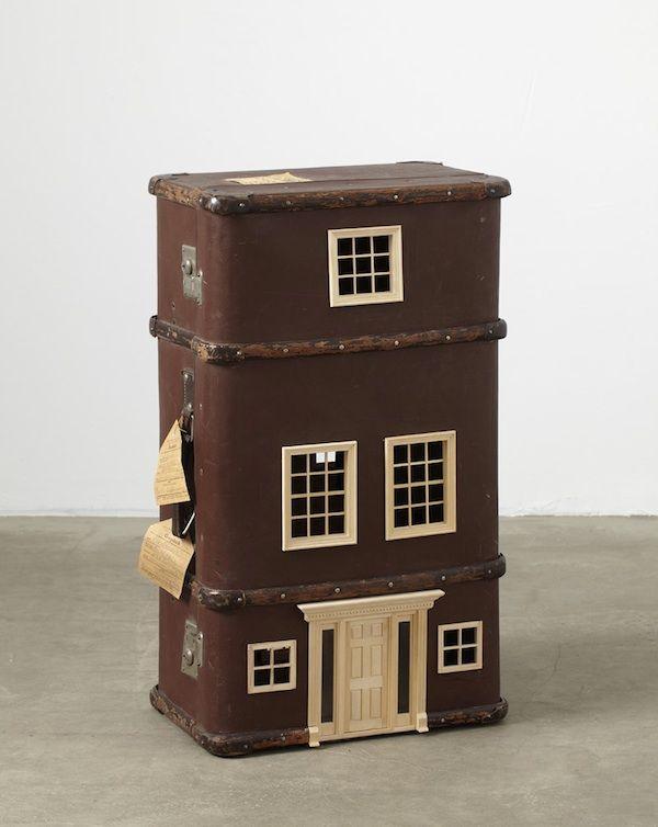 Vintage Suitcases Turned Miniature Homes - My Modern Metropolis