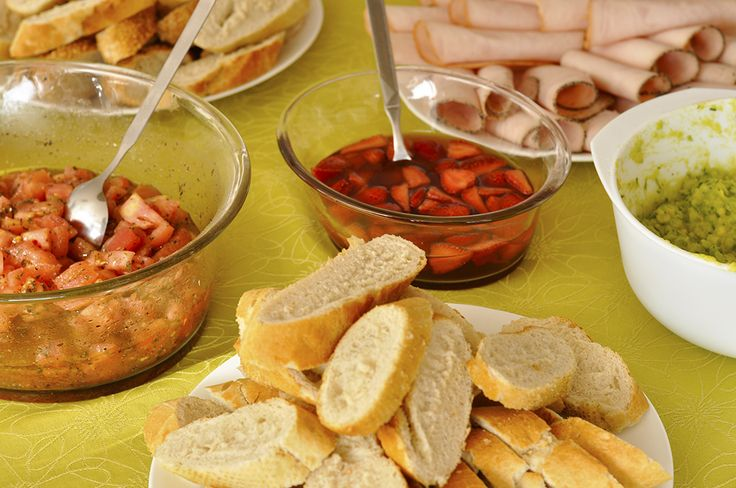 Bruschetta Bar - a new way to Brunch. www.flavourhunting.com for great ideas and combinations!