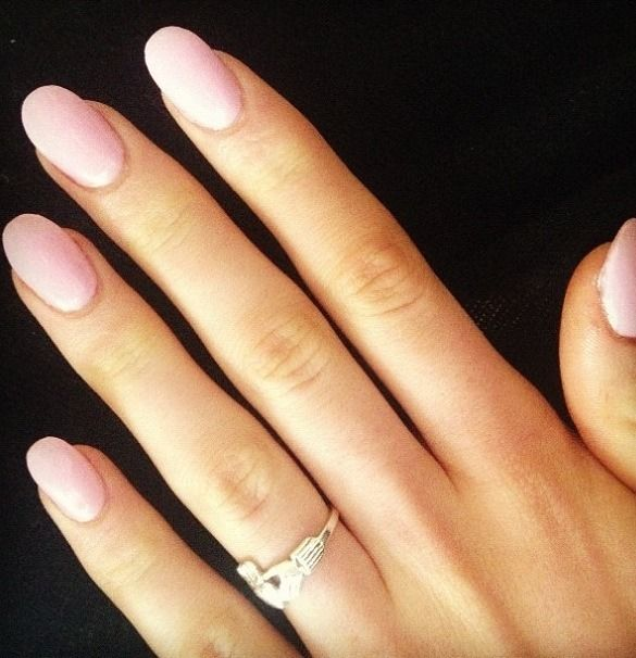 I love this nail shape!  Square, squoval, oval...almond is my favorite
