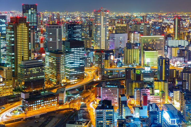 That Osaka skyline could be a computer game. | 31 Photos That Will Make You Want To Book A Ticket To Japan