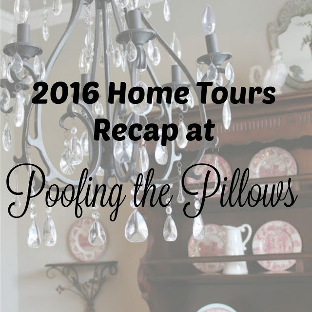 Home tours recap, home tours, southern homes, cottage homes, farmhouse