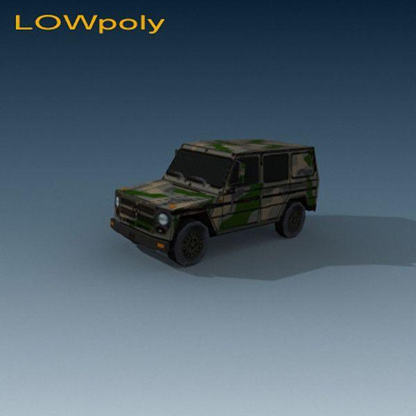 Mercedes 240 3D Model - 3D Model
