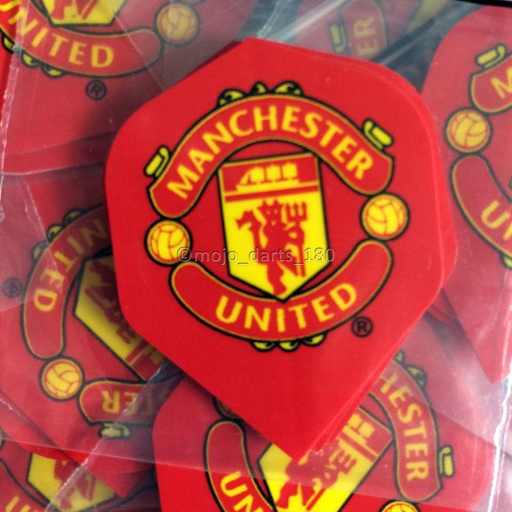MANCHESTER UNITED Dart Flights MAN UTD Standard Shape MUFC Football