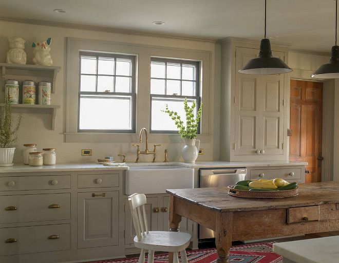 Best Gray Farmhouse Kitchen Paint Color Is Farrow And Ball 400 x 300